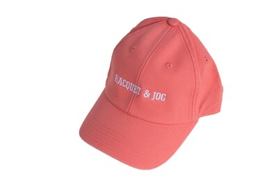 Racquet and Jog Statement Hat - Papaya
