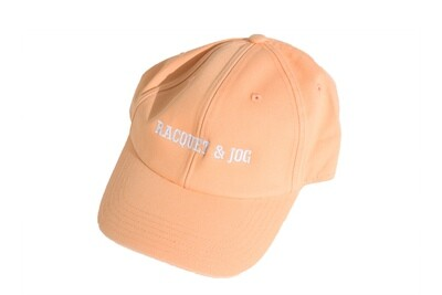 Racquet and Jog Statement Hat - Coral