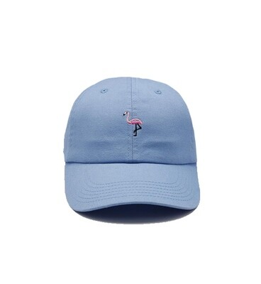 Bermies Dad Hat- Flamingo