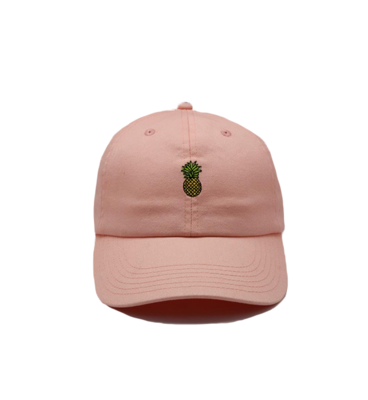 Bermies Dad Hat- Pineapple