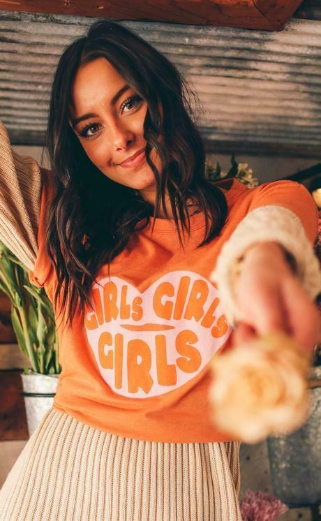 Friday+Saturday Girls Girls Girls Tee