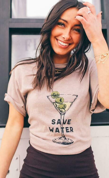 Friday+Saturday Save Water Tee