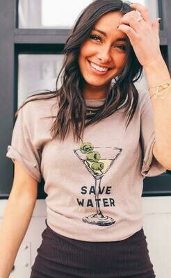 Friday+Saturday Save Water Tee