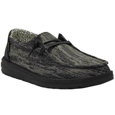 Hey Dude Women's Wendy - Black Marble