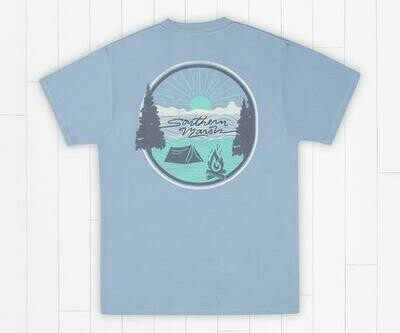 Southern Marsh Men's Summer Camp Sunsets Tee