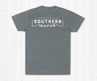 Southern Marsh Men's Seawash Wave Tee