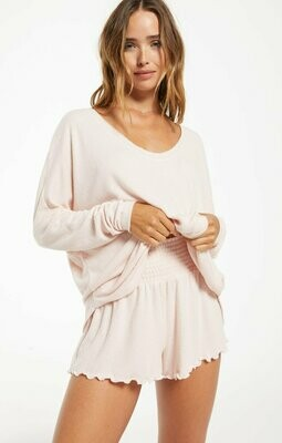 Z Supply Long Sleeve Hang Out Top