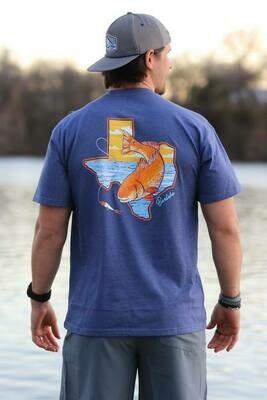 Burlebo Texas Redfish Tee