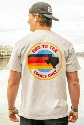 Burlebo Tied To Tex Men's Locals Only Tee