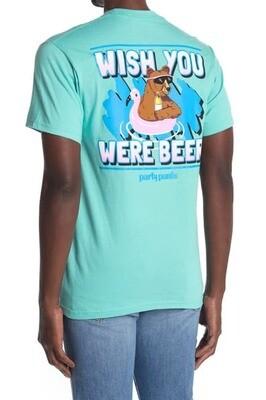 Party Pants Wish You Were Beer Tee