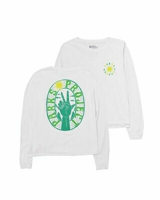 Parks Project Women's Long Sleeve Parks Peace Boxy Tee