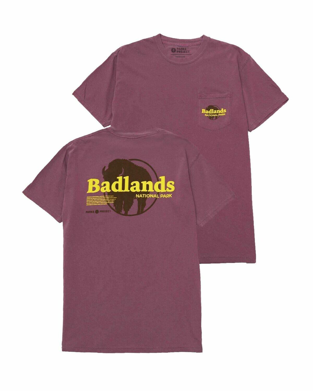 Parks Project Badlands Puff Print Pocket Tee
