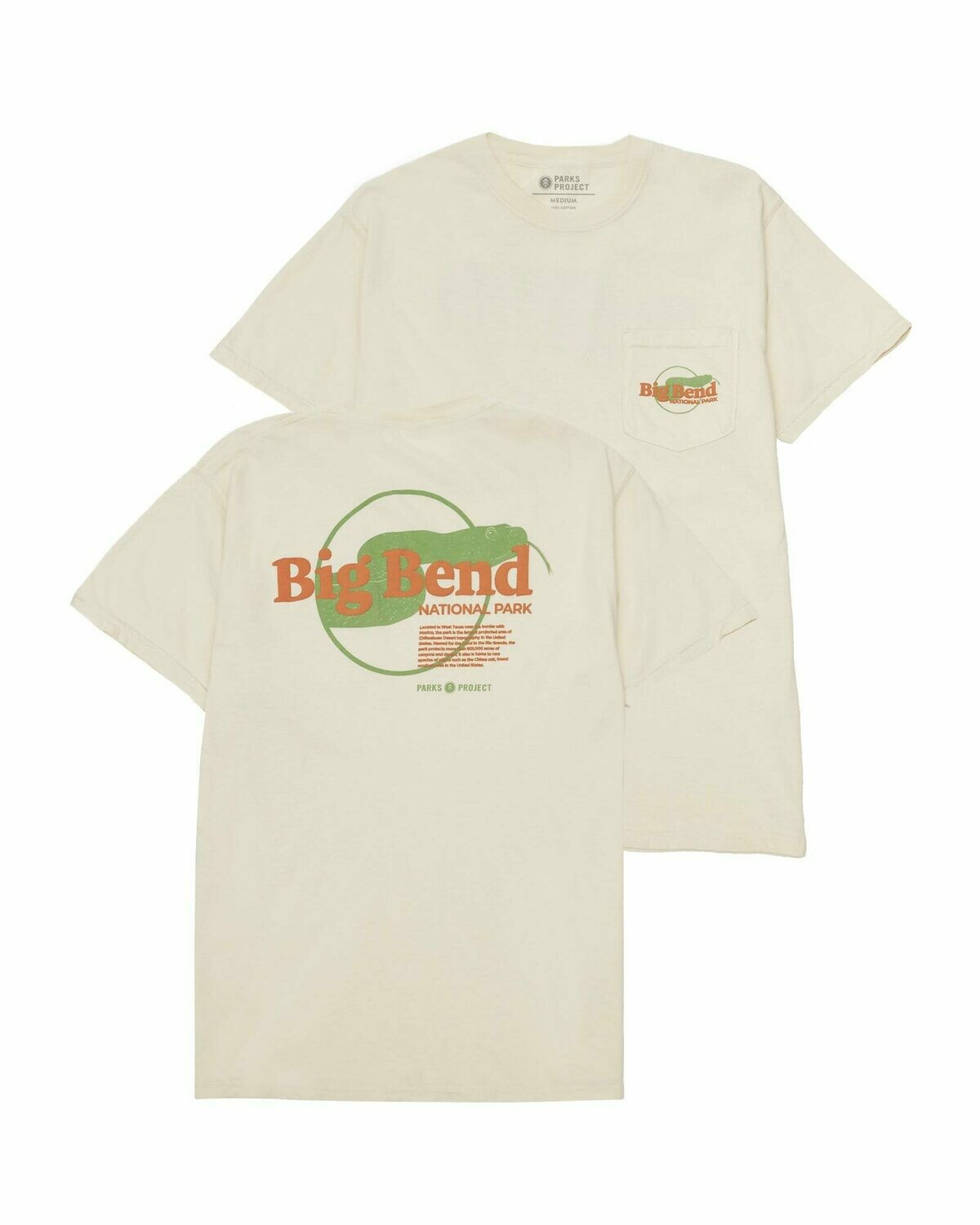 Parks Project Big Bend Puff Print Pocket Tee