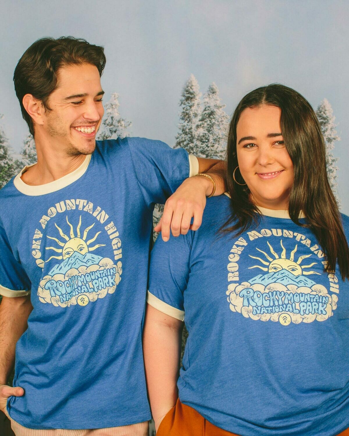 Parks Project Rocky Sunrise Ringer Tee