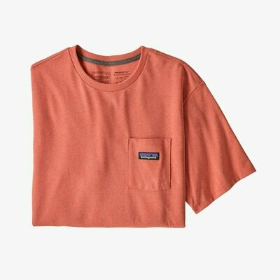 Patagonia Men's P-6 Label Pocket Responsibili  Tee