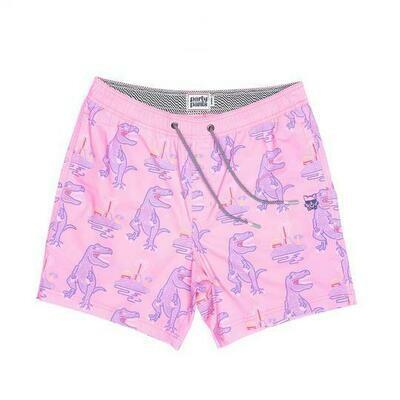 Party Pants T-Rex Neon Shorts