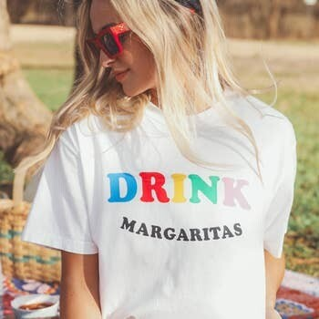 Friday+Saturday Drink Margaritas Tee