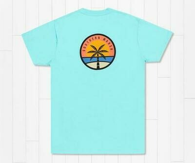 Southern Marsh Men's Sunset Palm Tee