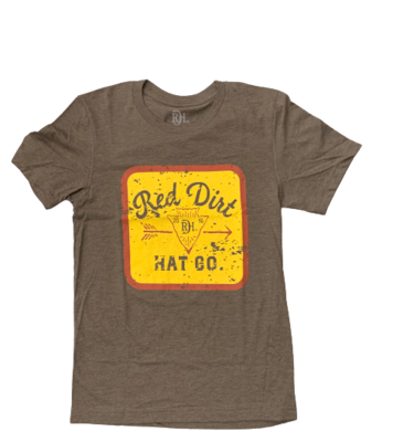 Red Dirt Hat Co Mineral Water Tee