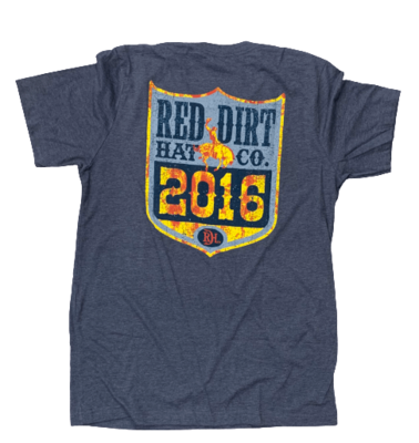 Red Dirt Hat Co Back No. Tee
