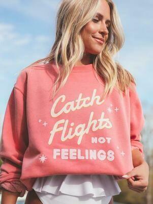 Friday + Saturday Catch Flights Crewneck