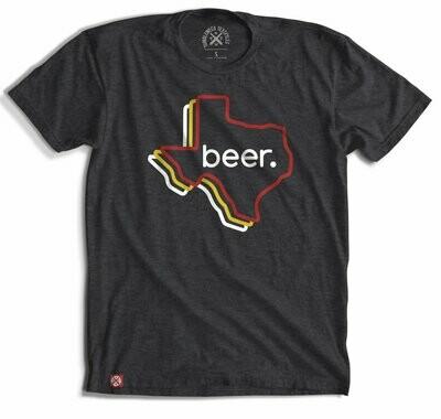 Tumbleweed Texstyles Retro Texas Beer Tee