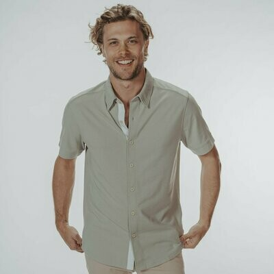 The Normal Brand Men's Active Puremeso Button Down