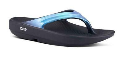 Oofos OOlala Luxe Sandal- Atlantis