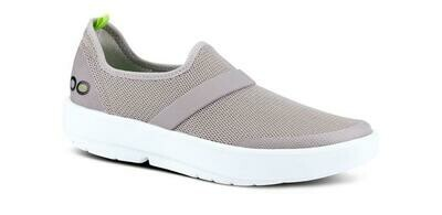 Oofos Women's OOmg Low - Grey and White