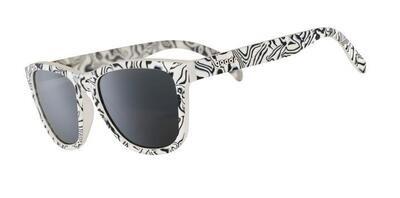 Goodr FOG Zebra Jasper's Life Coach Sunglasses