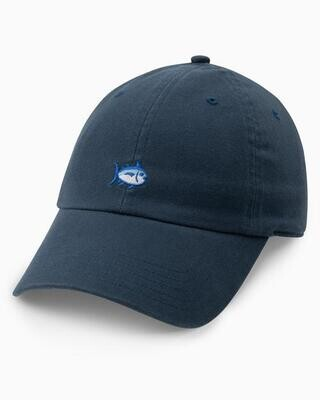 Southern Tide Mini Skipjack Leather Strap Hat