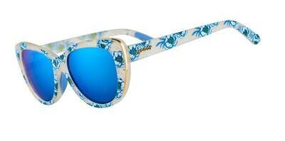 Goodr Runways Freshly Picked Cerulean Sunglasses