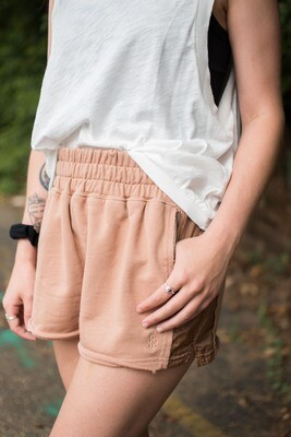 Free People Half Way There Short