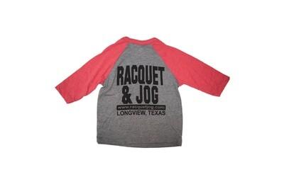Racquet & Jog Old School Core Raglan Youth Tee