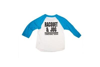Racquet & Jog Old School Core Youth Raglan Tee