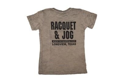 Racquet & Jog Old School Core Burnout Tee