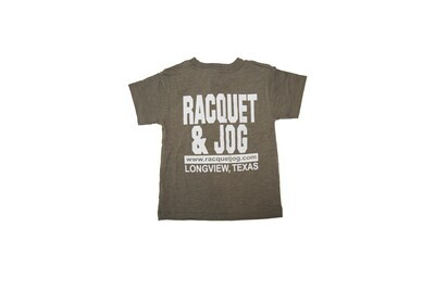 Racquet & Jog Old School Core Youth Track Tee