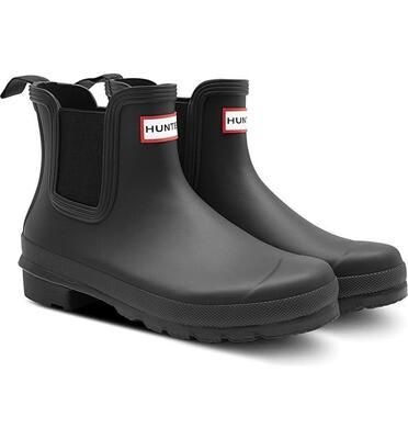 Hunter Women's Original Chelsea Boot- Black