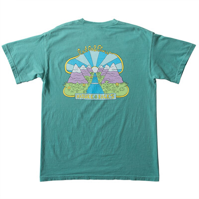 Nature Backs Let Go and Flow Tee