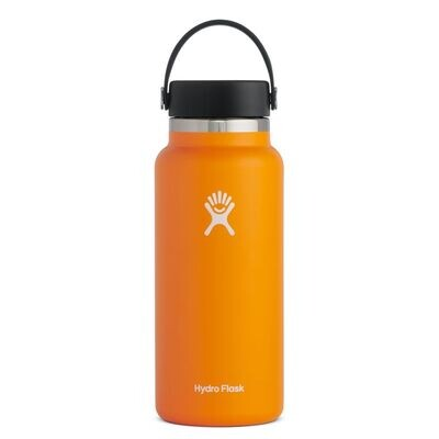 Hydro Flask 32oz Wide Mouth- Clementine