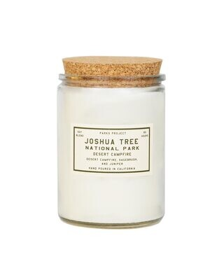 Parks Project Joshua Tree Candle- Campfire