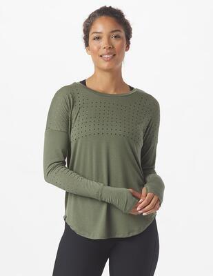 Glyder Women's Long Sleeve Mood Top