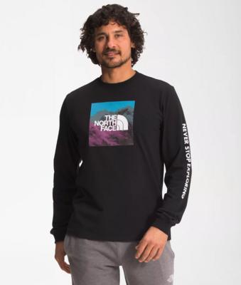 The North Face Men's Long Sleeve Logo Play Tee
