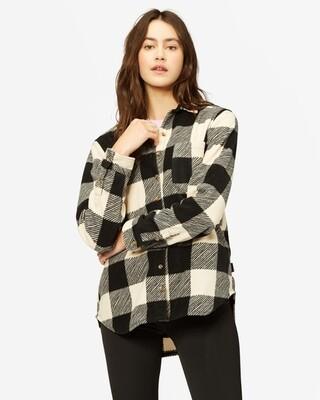 Billabong Women's Long Sleeve Forge Flannel