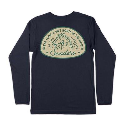 Sendero Long Sleeve Gift Horse Tee