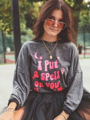 Charlie Southern Long Sleeve Spell On You Tee