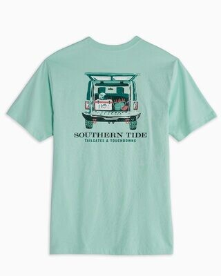 Southern Tide Men's Tailgates and Touchdowns Tee