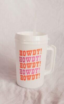 Friday + Saturday 34oz Howdy Mug