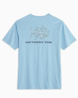 Southern Tide Men's Tailgate Time Tee
