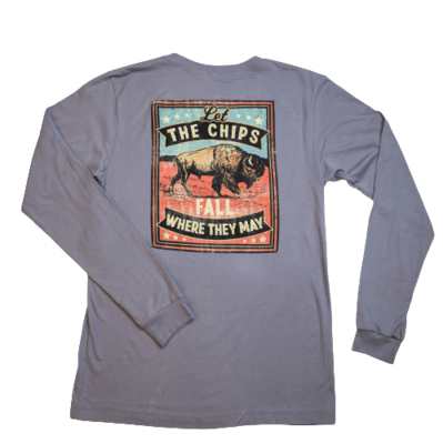 Red Dirt Hat Co Long Sleeve Chips Tee